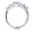 1.40ct Diamond 18k White Gold Wedding Band Ring