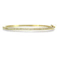 .63ct Hidalgo Diamond 18k Yellow Gold Bangle Bracelet