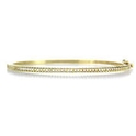 Hidalgo Diamond 18k Yellow Gold Bangle Bracelet