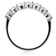 1.21ct Diamond 18k White Gold Wedding Band Ring