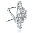 3.36ct Diamond 18k White Gold Earrings