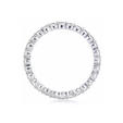 1.34ct Diamond Round Brilliant Cut Platinum Eternity Wedding Band Ring