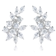 4.85ct Diamond 18k White Gold Earrings