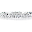 1.17c Diamond Platinum Eternity Wedding Band Ring