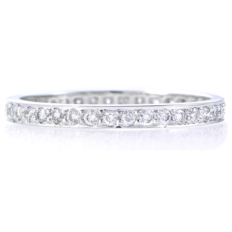 32ct platinum eternity ring