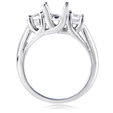 .74ct Diamond Platinum Engagement Ring Setting