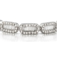 3.82ct Diamond 18k White Gold Bracelet