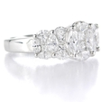 1.72ct Diamond 18k White Gold Ring