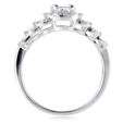 .62ct Diamond 18k White Gold Ring