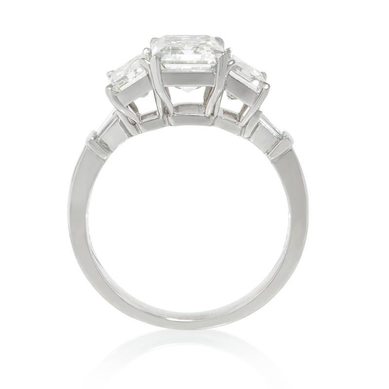 86ct Diamond Platinum Engagement Ring Setting