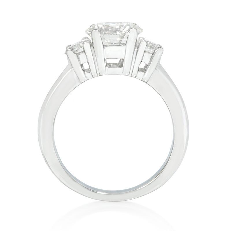 45ct Diamond Platinum Engagement Ring Setting