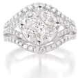 1.92ct Diamond 18k White Gold Ring