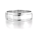 Men`s Platinum Wedding Band Ring