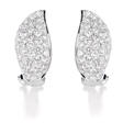 2.24ct Diamond 18k White Gold Earrings