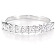 .63ct Diamond Platinum Wedding Band Ring