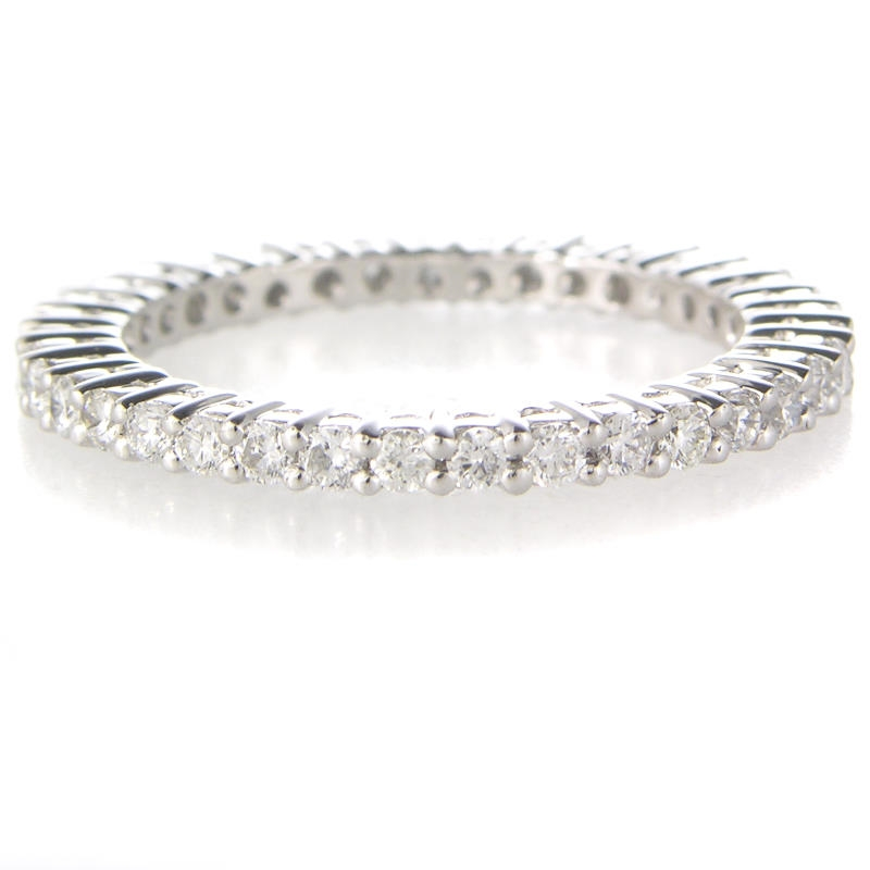 68ct platinum eternity wedding band ring