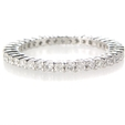 .68ct Diamond Platinum Eternity Wedding Band Ring