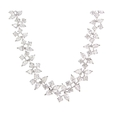 22.45ct Diamond and Platinum Necklace