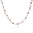 13.50ct Diamond 18k Two Tone Gold Necklace
