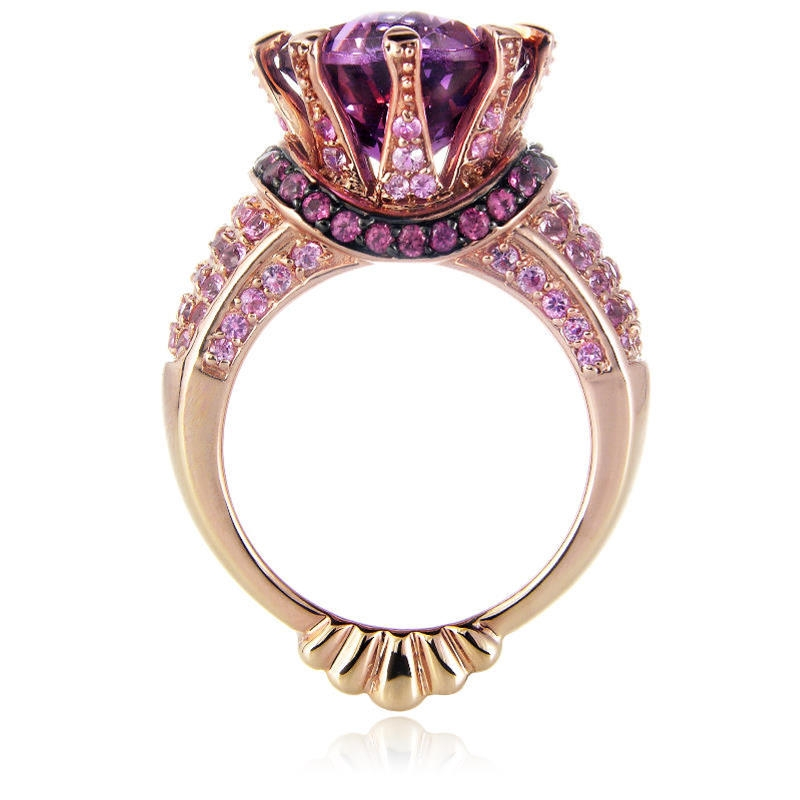 and black p vian ring chocolate gold diamond wedding rhodium rings strawberry le levian m