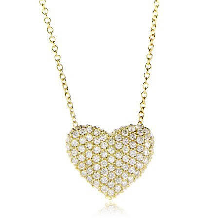 54ct simon g diamond 18k yellow gold heart pendant necklace 54ct simon g diamond 18k yellow gold heart pendant necklace aloadofball Choice Image