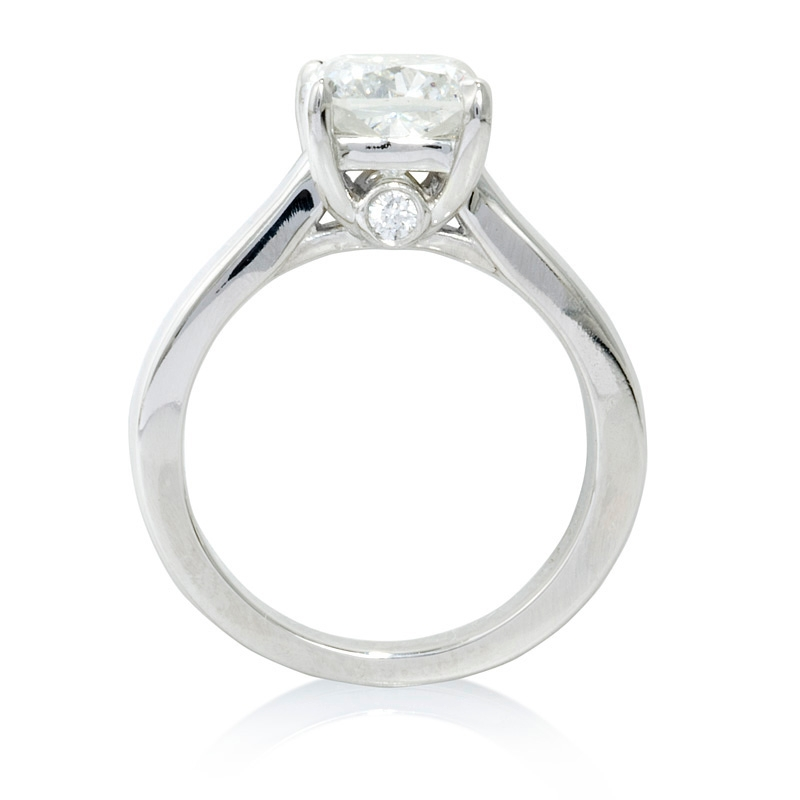 04ct Diamond Platinum Engagement Ring Setting