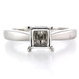.04ct Diamond Platinum Engagement Ring Setting