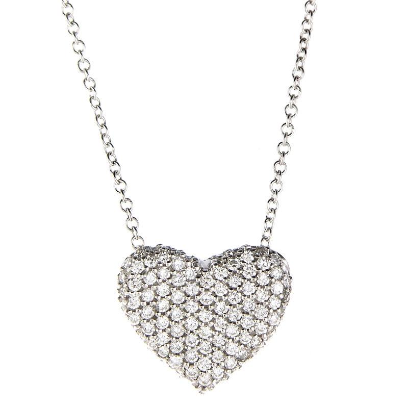 54ct simon g diamond 18k white gold heart pendant necklace 54ct simon g diamond 18k white gold heart pendant necklace mozeypictures Images