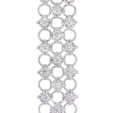 19.53ct Diamond 18k White Gold Bracelet