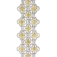 23.26ct Diamond 18k Two Tone gold Bracelet