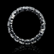 4.64ct Diamond Platinum Eternity Wedding Band Ring