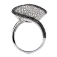 3.89ct Diamond 18k White Gold Ring