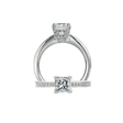 .58ct Ritani Setting Collection Diamond Platinum Engagement Ring Setting