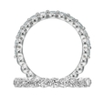 .74ct Ritani Classic Collection Diamond Platinum Wedding Band Ring