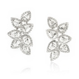 2.21ct Diamond 18k White Gold Earrings