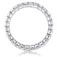 1.47ct Diamond Platinum Eternity Wedding Band Ring