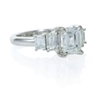 1.01ct Diamond Platinum Engagement Ring Setting