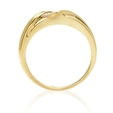 .38ct Men's Diamond 18k Yellow Gold Ring