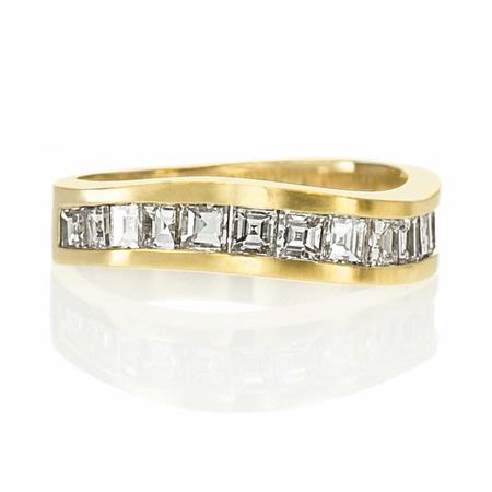 Men's Diamond 14k Yellow Gold Ring
