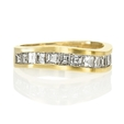 1.19ct Men's Diamond 14k Yellow Gold Ring