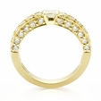 1.51ct Diamond 18k Yellow Gold Ring