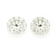 1.06ct Diamond 18k White Gold Earring Jackets