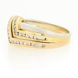 .38ct Diamond 14k Two Tone Gold Ring
