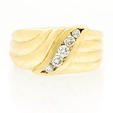 .11ct Diamond 14k Yellow Gold Ring