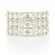 2.78ct Diamond 18k White Gold Ring