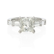 .47ct Diamond Platinum Engagement Ring Setting