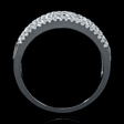 1.12ct Diamond 18k White Gold Wedding Band Ring