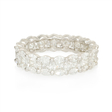 3.12ct Diamond 18k White Gold Eternity Wedding Band Ring