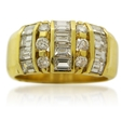 1.63ct Diamond 14k Yellow Gold Ring
