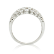 1.04ct Diamond 18k White Gold Ring